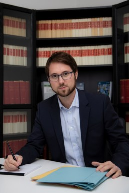 Me Dario Hug, avocat au barreau de Neuchâtel